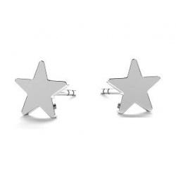 """Earrings """"Star"""" - 925 Sterling Silver + BOX"""
