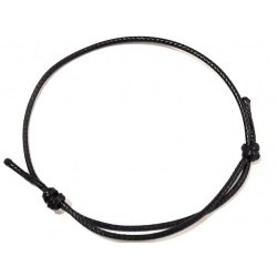 Thread Bracelet 1,5 mm - Black