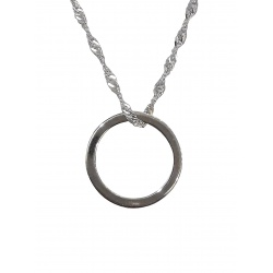 "Necklace ""Karma"" - 925 Sterling Silver + BOX"