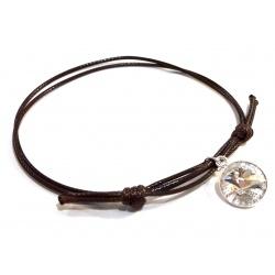 Bracelet w/ Swarovski Crystal Rivoli 12mm Crystal