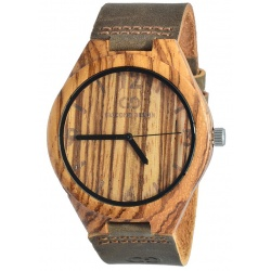 Muški ručni sat Giacomo Design LEGNO SUL BAR ZEBRA GD08002