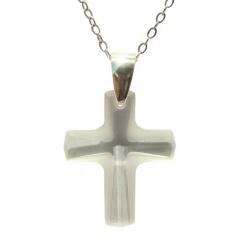Ogrlica Lančić i Privjesak Swarovski Kristal Cross CosmoCrystal 12mm