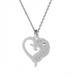 Necklace  - 925 Sterling Silver + BOX