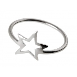 Prsten Zvijezdica - Srebro 925 - Razmjer 12 + KUTIJA