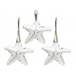 Komplet s kristalima Swarovski u srebru 925 - Starfish Crystal AB 16mm