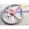 Bracelet with Swarovski pearl - 925 Sterling Silver