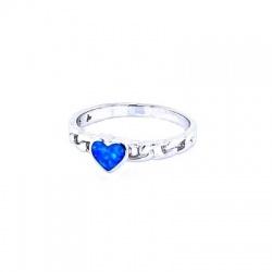 Prsten s cirkonima - Srebro 925 - Razmjer 17,5 + KUTIJA